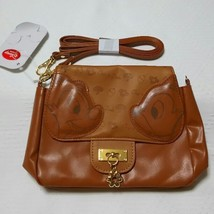 Disney Store Japan Character Chip & Dale Mobile Phone Pouch Bag Brown - $58.41