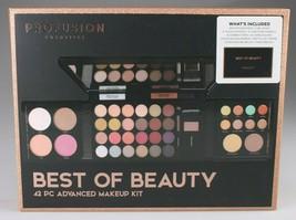 Profusion Cosmetics Best Of Beauty 42 Piece Advanced Eyeshadows+ Make-Up Kit NIB