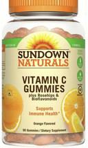 Sundown Naturals Vitamin C Full Immune System Support Gummy Orange, 90ct Exp2/21 - $11.39