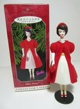 1998 Silken Flame Barbie Collectors Series Fashion Hallmark Christmas Or... - $5.89