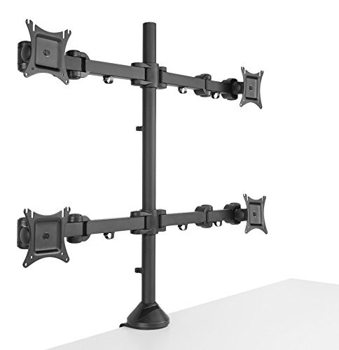 Seneca AV SD22 Four Arm Desktop Mount for 13-inch to 27-inch Displays
