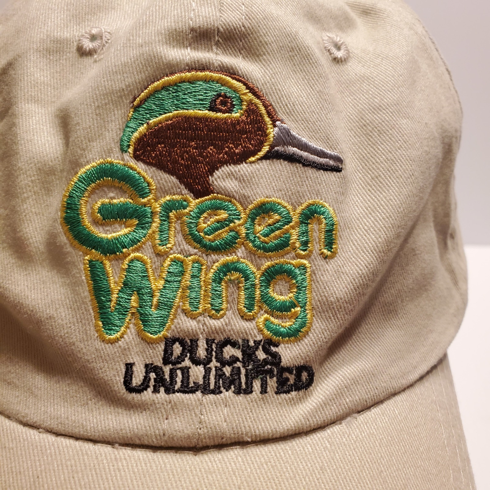 Green Wing Ducks Unlimited Adjustable Hat One Size Fits Most. Dorfman Pacific.   image 7