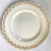 "Franciscan China Beverly Salad Plate 8 1/4"" Gold Leaf - $7.95"