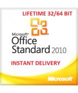 Microsoft office Standard 2010 32/64 Bit Download + Activation Code - WI... - $12.99