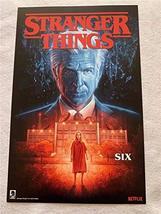 "Stranger Things Six - 11""x17"" Original Promo Poster Sdcc 2019 Dark Horse - $24.49"