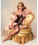 Lola by Gil Elvgren Pin UP Giclee On Stretched Canvas Open Edition Print - $197.01