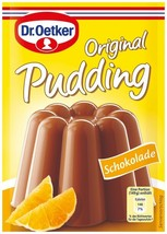 Dr.Oetker Original Pudding: Chocolate- Pack of 3 -  FREE SHIPPING - $8.90