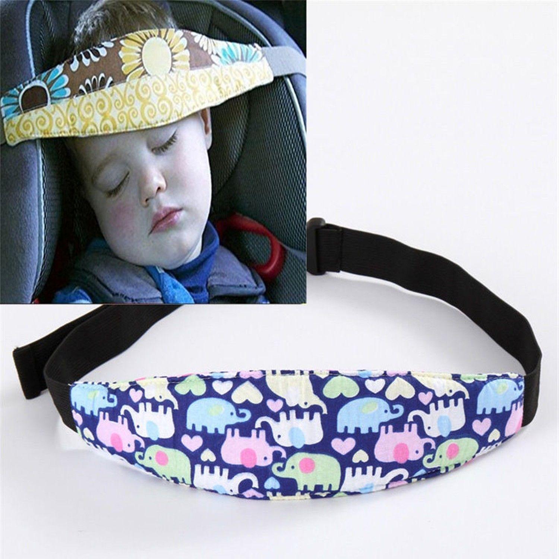 car safety seat sleep positioner infants baby head support pram stroller belt. Black Bedroom Furniture Sets. Home Design Ideas
