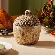 Two's Company Acorn Covered Serving Dish (food safe) - €58,55 EUR