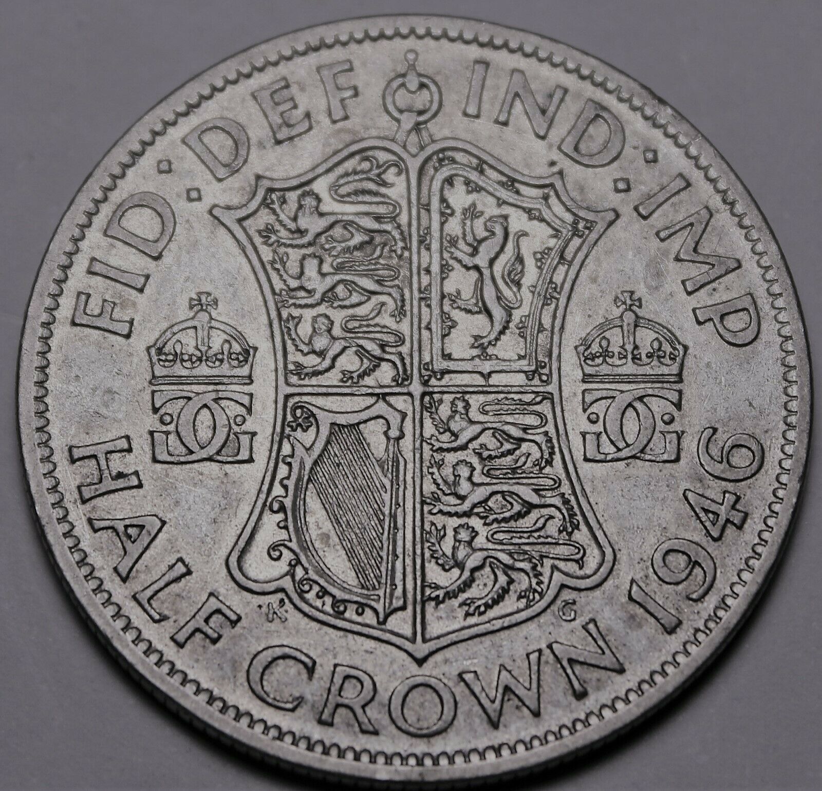 Primary image for Grande-Bretagne Demi Couronne, 1946 Argent ~ George VI