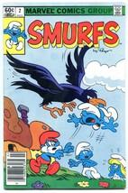 Smurfs #2 1982- Marvel Comics VG - $11.17