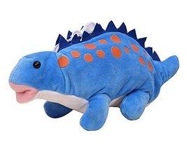Blue Dinosaur Plush Animal Pencil Case Cute Bag Pouch - $17.98