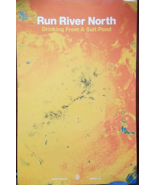 "Run River North ""Drinking From A Salt Pond"" Dbl Sided Promo Poster 11"" x... - $4.95"
