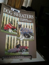 Leisure Arts 934 Dog Sweaters 10 Designs Knit & Crochet 1990 Carol Carvalho - $3.92