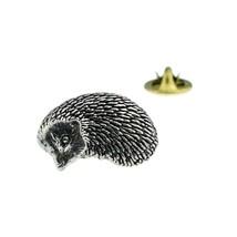 Hedgehog  tie pin, Lapel Pin Badge, in gift box