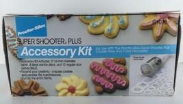Proctor Silex Super Shooter Plus Accessory Kit G1010 6 Large 12 Regular ... - €24,58 EUR