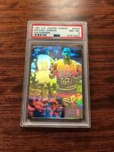 1991 Upper Deck Basketball #AW4 Michael Jordan Award Winner Hologram Psa 8 Mint - $27.44