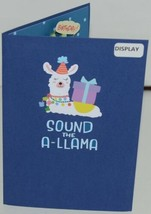 Lovepop LP2598 Happy Birthday Llama Pop Up Card White Envelope Cellophane wrap image 2