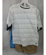 NEW BOYS SIZE 12 BEVERLY HILLS POLO CLUB 3 PIECE SHORT SET 2 shirts naut... - $25.00