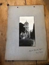 ANTIQUE/VINTAGE PHOTO OF TOM TOWER AT CHRIST CHURCH IN OXFORD (ENGLAND) ... - $6.36