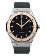Hublot Classic Fusion Black Dial Black Rubber Mens Watch 511.NO.1181.RX - ₹577,308.20 INR