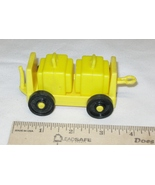Vintage Fisher Price Little People Airport Tram/Cart with Luggage/Suitcases - $13.99