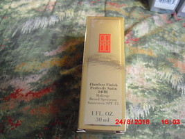 Elizabeth Arden Flawless Finish Perfectly Satin 24HR Makeup Chestnut 18 - $12.61