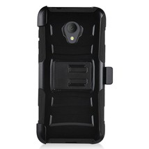 For Alcatel idealXtra / 1X Evolve Phone Case Cover Holster Belt Clip Stand Hard - $8.99