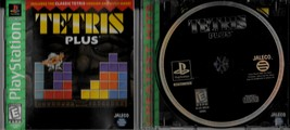 Tetris Plus, Playstation, Greatest Hits, E For Everyone, Jaleco Games 1996 - $1.99
