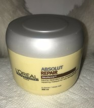 6.7 oz. L'Oreal Expert Absolut Repair Neofibrine Repairing Masque. 200ml. NEW. - $65.28