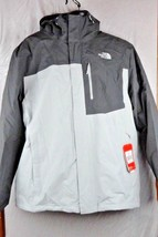 The North Face Men's HYVENT Gray Coat Jacket Hooded 2XL XXL BRAND NEW WI... - $180.00