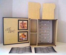 Hallmark Storage Momento Keepsake Box Stationery Photos Pictures - $18.47