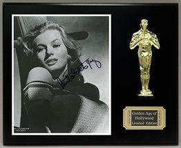 Anita Ekberg Reproduction Autographed 8 x 10 Photo LTD Edition Oscar Display - $66.45