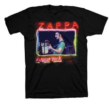Frank Zappa-Zappa In New York-XL Black T-shirt - $21.28