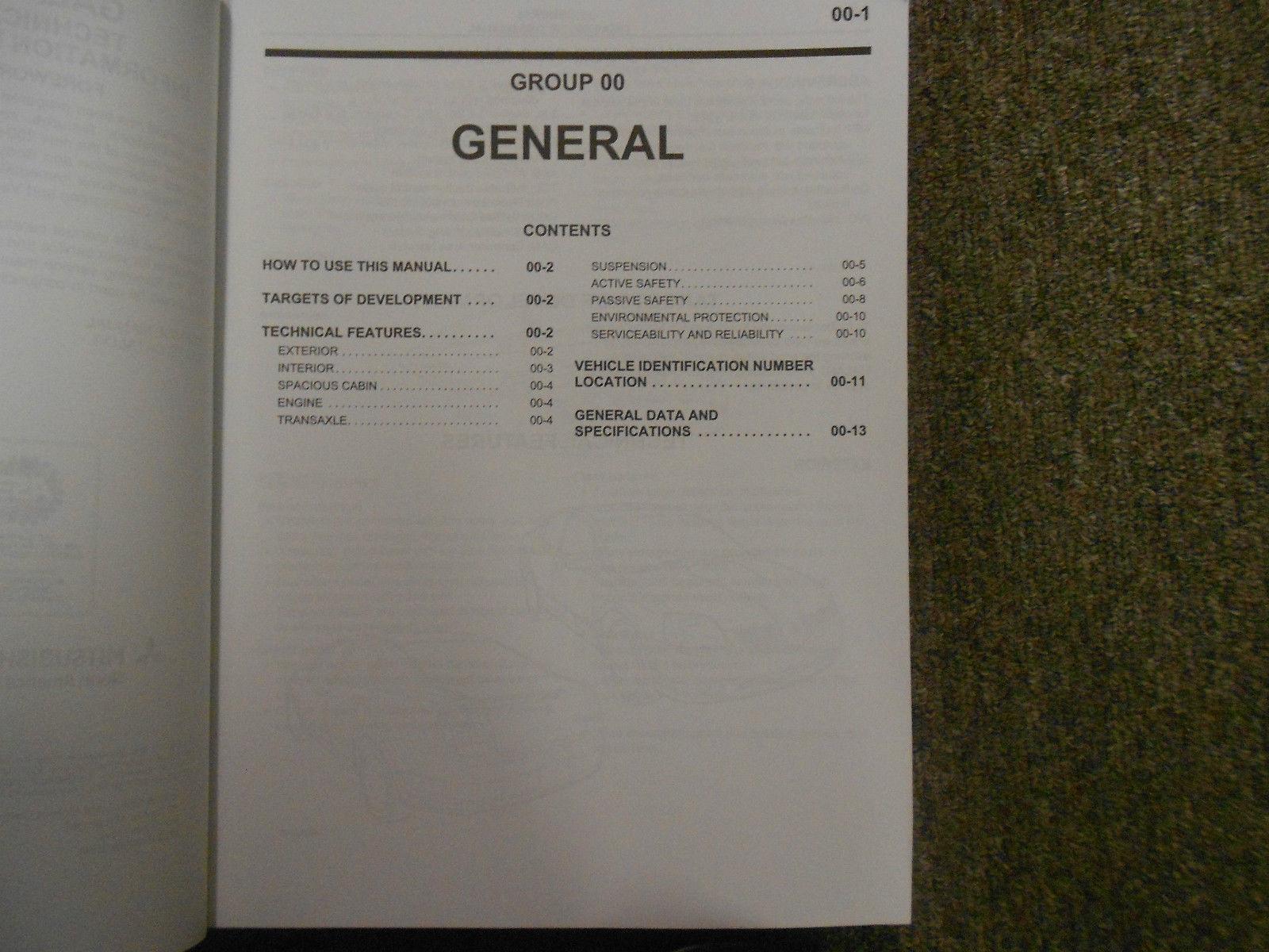2004 MITSUBISHI GALANT Service Shop Repair Manual 6 VOL SET OEM FACTORY BOOK 04