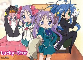 Great Eastern Entertainment Lucky Star Cosplay Wall Scroll, 33 by 44-Inch - $32.21