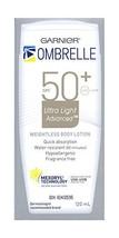 Garnier Ombrelle 50+ SPF Ultra Light Sunscreen Lotion 2 x 120ml Canada  - $69.99