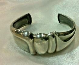 Lapponia Bjorn Weckstrom 1979 Sterling Silver Cuff Bracelet 49.88 Grams - $450.00