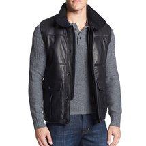 Trendy Style Men Leather Vest