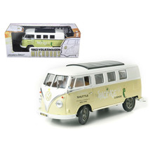 1962 Volkswagen Microbus Space Age Lodge Cream 1/18 Diecast Model Car by Gree... - $61.34