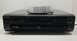 Panasonic DVD-CV50 DVD/Video CD/CD Player 5 Disc Changer with Remote image 1