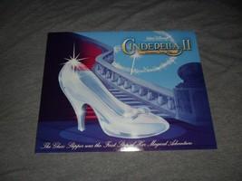 "Disney Art Print Lithographs 11""x14"" Cinderella II Set of 4 - $9.89"