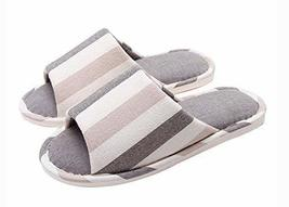(Made By Cotton) Skidproof The Simple Style Of Home Slippers(Stripe 1)