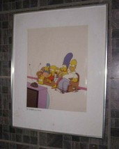 The Simpsons TV Guide Cover Portrait - $139.99
