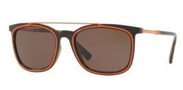 Versace Gafas de Sol VE4335 108/73 56MM Marrón Naranja Monturas Lente - $98.99