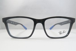 Ray-Ban RB 7025 5581 Black w/Blue Tips New Authentic Eyeglasses 53mm - 204 - $89.74