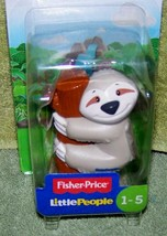 Fisher Price Little People SLOTH Figure New - $7.50