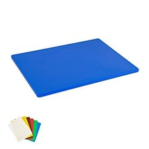 Plastic Cutting Board, Commercial Grade, 12-inch by 18-inch by 1/2-inch,... - $15.29