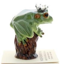 Hagen-Renaker Miniature Tree Frog Figurine Birthstone Prince 04 April Diamond image 2