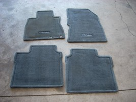 2015 NISSAN VERSA NOTE 4 BLACK FLOOR MATS